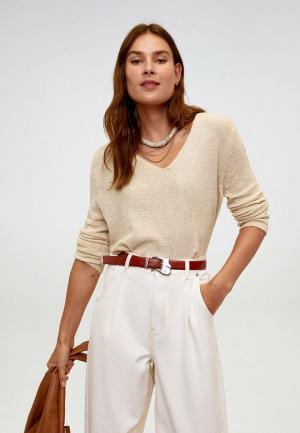 Пуловер Mango - ESTORIL. Цвет: бежевый
