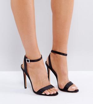 Босоножки на каблуке с пряжкой ASOS HOPEFUL DESIGN