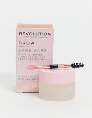 Восстанавливающая маска для бровей Rehab Brow Care Mask-Бесцветный Revolution