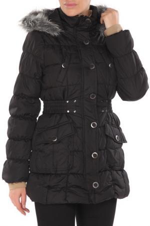 Куртка URBAN REPUBLIC. Цвет: черный