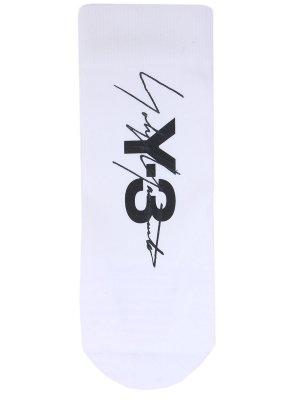 Спортивные носки Tube Y-3. Цвет: разноцветный