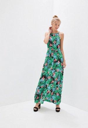 Платье пляжное Deseo. Цвет: разноцветный