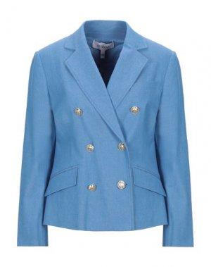 Пиджак DEREK LAM 10 CROSBY. Цвет: синий