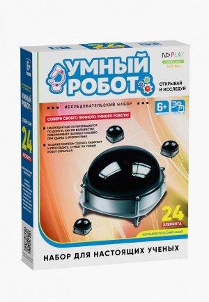 Набор для опытов ND Play Умный робот. Цвет: черный