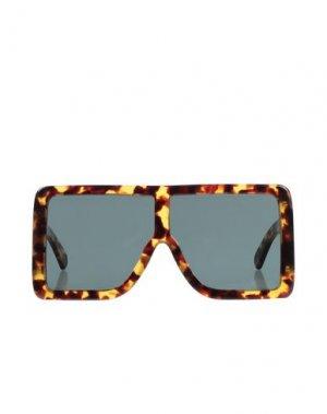 Солнечные очки GCDS. Цвет: песочный