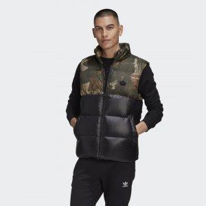 Жилет Regen Blocked Originals adidas. Цвет: черный