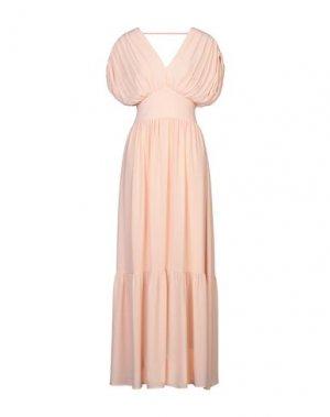 Длинное платье TWENTY EASY by KAOS. Цвет: абрикосовый