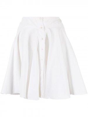 Пышная юбка Alaïa Pre-Owned. Цвет: белый