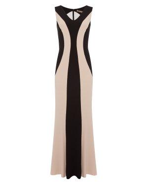 Платье 46980 44 черный+бежевый D.EXTERIOR. Цвет: черный+бежевый