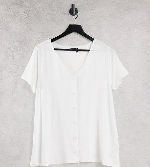 Белая блузка для кормящих матерей на пуговицах ASOS DESIGN Maternity-Белый Maternity - Nursing