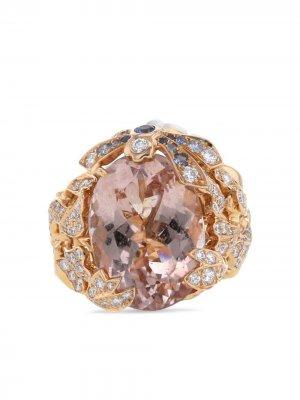 Кольцо Gourmande из розового золота 2010-го года Christian Dior. Цвет: розовый