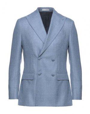 Пиджак 0909 FATTO IN ITALIA. Цвет: пастельно-синий