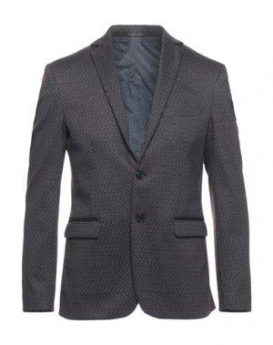 Пиджак EXIBIT. Цвет: баклажанный