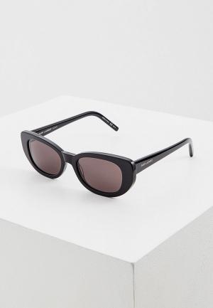 Очки солнцезащитные Saint Laurent SL 316 001. Цвет: черный
