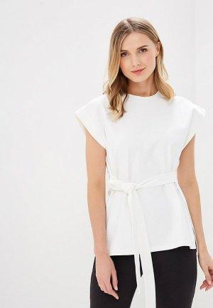 Блуза Adolfo Dominguez. Цвет: белый