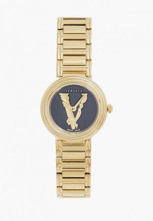 Часы Versace VET300921. Цвет: золотой