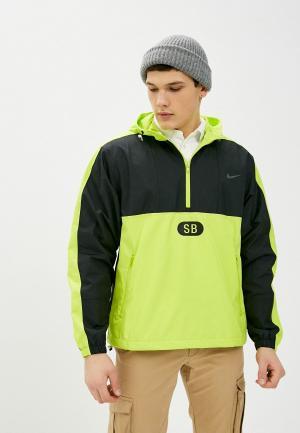 Ветровка Nike M NK SB MARCH RADNESS ANORAK. Цвет: зеленый