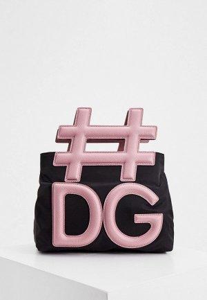 Сумка Dolce&Gabbana. Цвет: черный