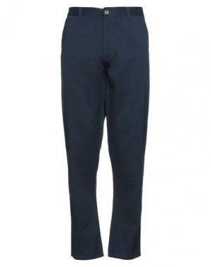 Повседневные брюки ELEMENT. Цвет: темно-синий