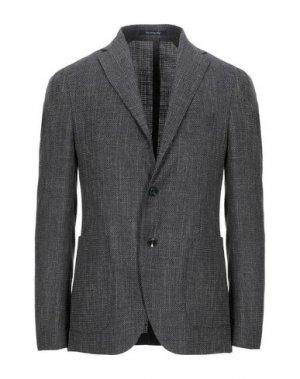 Пиджак ROYAL ROW. Цвет: стальной серый
