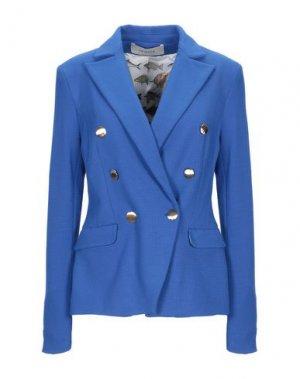 Пиджак JANICE. Цвет: ярко-синий