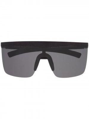Солнцезащитные очки Trust в массивной оправе Mykita. Цвет: черный