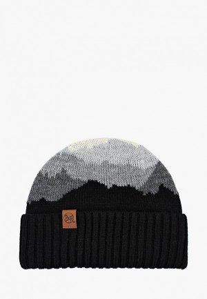 Шапка Buff Knitted Hat Sveta. Цвет: черный