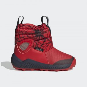 Зимние сапоги Marvel Spider-Man WINTER.RDY Performance adidas. Цвет: красный