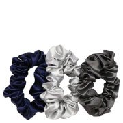 Silk Large Scrunchies - Midnight Slip