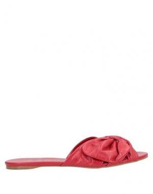 Сандалии CARRANO. Цвет: красный