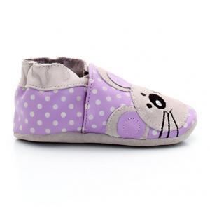 Ботиночки Souricette ROBEEZ. Цвет: фиолетовый + серый