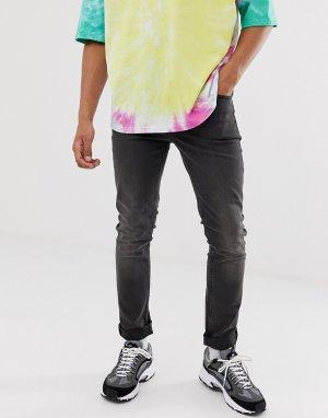 Серые зауженные джинсы -Серый Cheap Monday