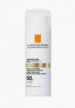 Крем для лица La Roche-Posay солнцезащитный ANTHELIOS Антивозрастной SPF50, 50 мл. Цвет: белый