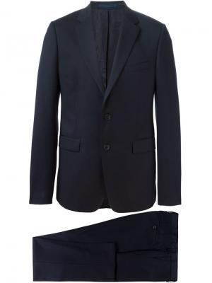 Классический костюм-двойка Kenzo. Цвет: синий