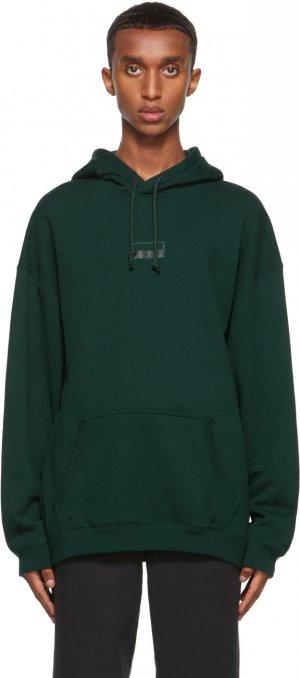Green R.Y.V. Loose Fit Hoodie adidas Originals. Цвет: forest grn