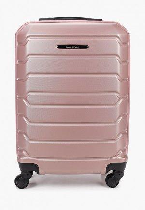 Чемодан Gianni Conti. Цвет: розовый