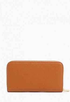 Кошелек Дирз. Цвет: коричневый