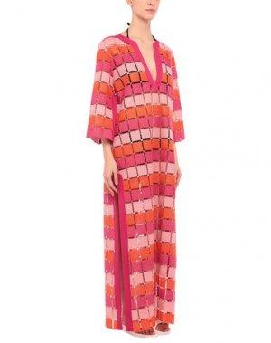 Пляжное платье PIN UP STARS. Цвет: розовый