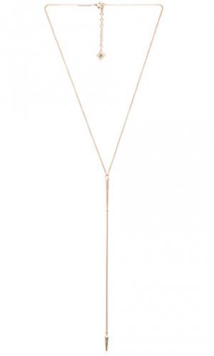 Ожерелье vivian Kendra Scott. Цвет: металлический золотой
