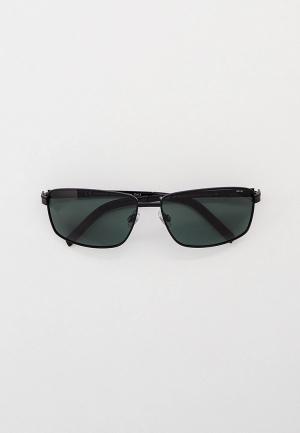 Очки солнцезащитные Invu Flexible. Цвет: черный