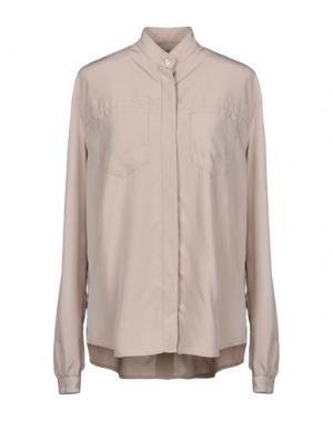 Pубашка BIKKEMBERGS. Цвет: голубиный серый