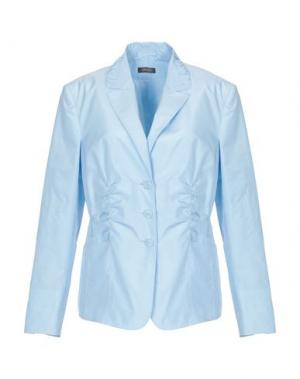 Пиджак BASLER. Цвет: небесно-голубой