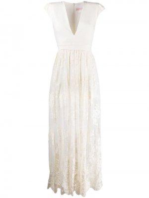 Кружевное платье Aniye By. Цвет: белый