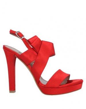 Сандалии ALBANO. Цвет: красный