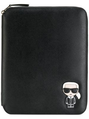 Чехол для планшета Ikonik Karl Lagerfeld. Цвет: черный