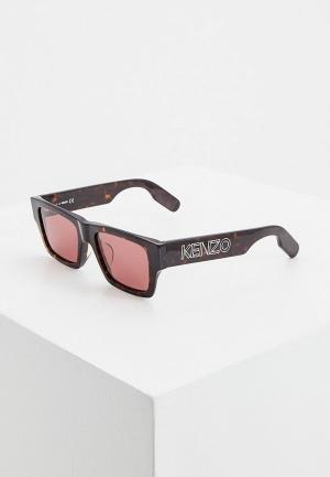 Очки солнцезащитные Kenzo KZ 40100U. Цвет: черный