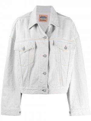 Джинсовая куртка свободного кроя Acne Studios. Цвет: синий