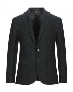 Пиджак TAKESHY KUROSAWA. Цвет: темно-зеленый