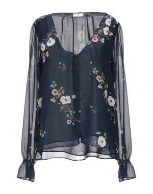 Блузка JOIE. Цвет: темно-синий