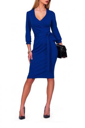 Платье FABIEN DE FERANTE. Цвет: ярко-синий